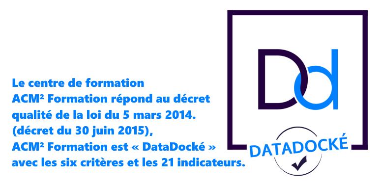 ACM² Formation Datadocké