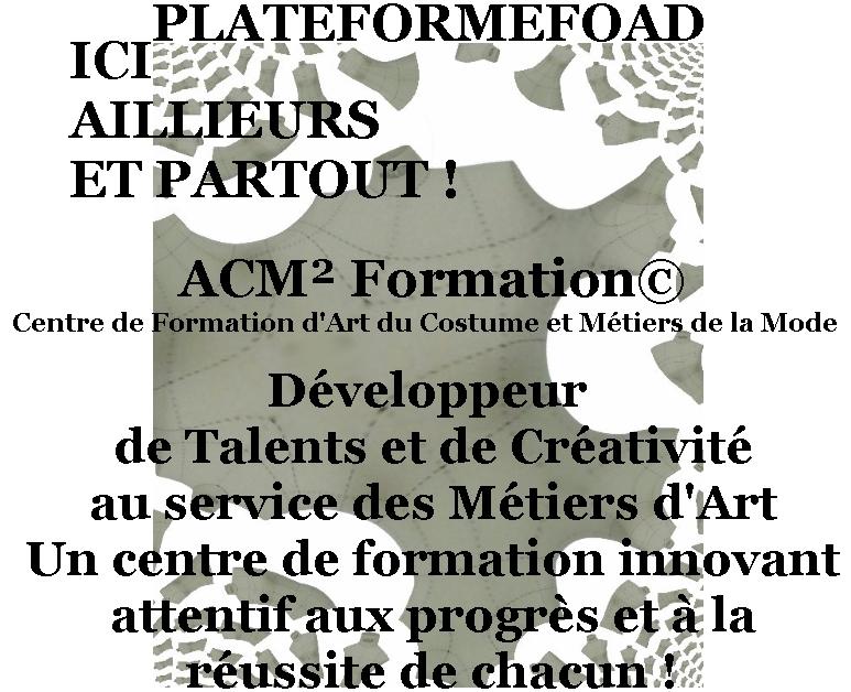 Plateformefoad ACM² Formation©